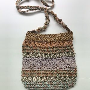 Cappelli Straworld Crossbody Bag with Bead Detail